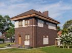 Проект двухэтажного дома с террасой